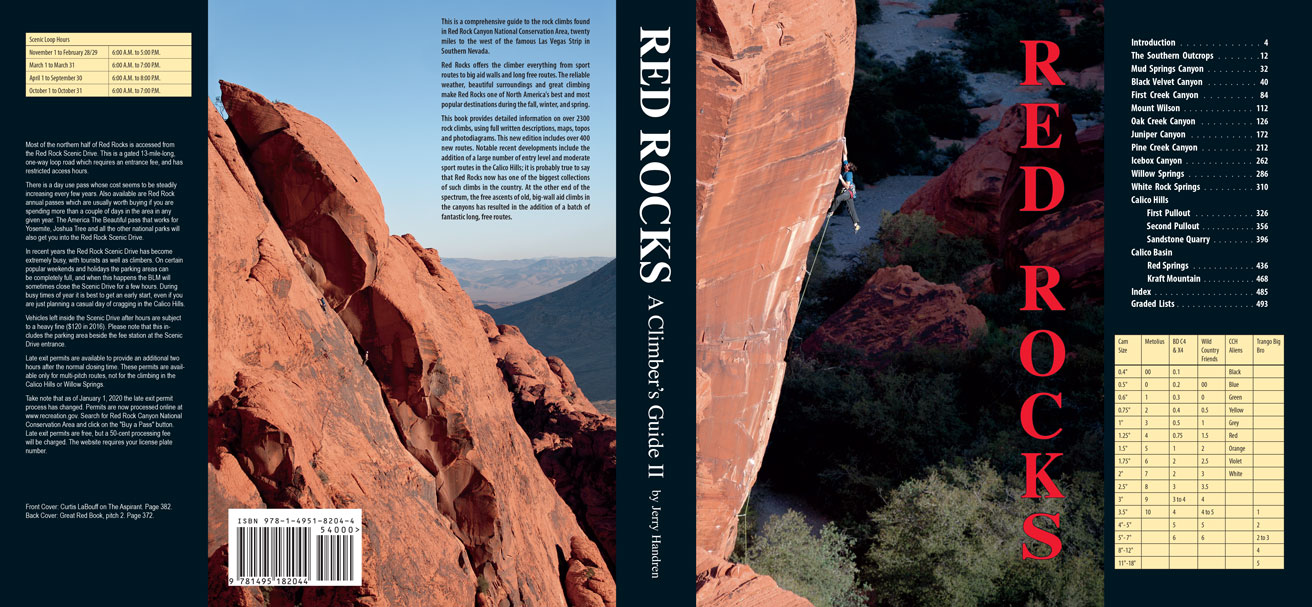 Red Rocks - A Climber's Guide